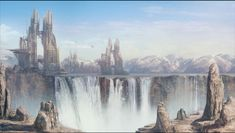 Matte Painting - Sci-Fi KL 2 by Cok3ster on DeviantArt