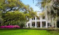This 19th-century antebellum mansion is set on 26 acres of manicured gardens. Talk about spring fever! | Monmouth Historic Inn in Natchez, Mississippi | Southern Living Handpicked Hotels