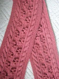 Regina Cable and bobble ~ smariek knits