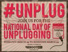 DETOX - Logo National Day of Unplugging communication