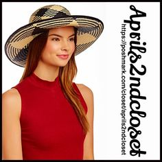 "❗️1-HOUR SALE❗️SUN HAT Round Wide Brim Sun Hat Betmar Wide Brim Panama Hat NEW WITH TAGS  RETAIL PRICE: $70   * Pattern woven construction; Approx. 5"" brim (larger than a fedora ).  * Contrasting band trim accent w/bow detail.   * Allover smooth weaved texture.  * Tagged-One size fits most.  Fabric: 100% Paper Color: Black & Natural  Item:94500  No Trades ✅ Offers Considered*/Bundle Discounts✅  *Please use the blue 'offer' button to submit an offer. Boutique Accessories Hats"