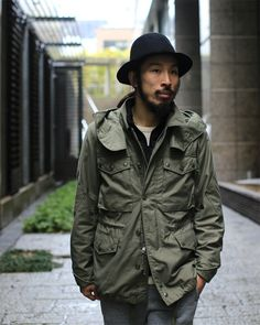 Engineered Garments – 別注M-51 Field Jacket [Olive Green]