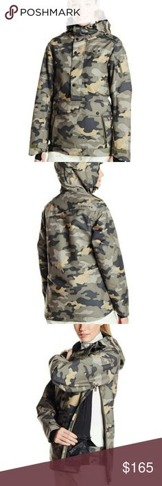 BNWT OAKLEY ALFA BIOZONE PARKA Rare find.  Brand new with tags women's camo pullover parka with hood more details to come.  Perfect Christmas gift comes with Oakley bag for Packaging. please ask any and all questions before purchasing this item Oakley Jackets & Coats Puffers