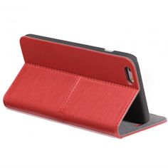 Decoded Surface Wallet iPhone 6(s) rood  SHOP ONLINE: http://www.purelifestyle.be/shop/view/technology/iphone-beschermhoezen/decoded-surface-wallet-iphone-6s-rood