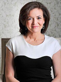 "Sheryl Sandberg, businesswoman, COO de Facebook, auteur de ""Lean In"""