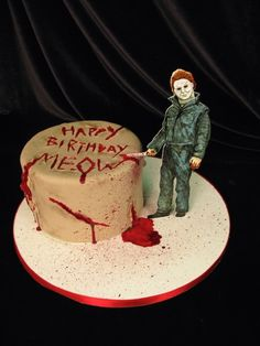 Scary Birthday Cake Pictures
