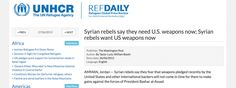 """Is the United Nations complicit in the smuggling of weapons and ammo into Syria? In December 2015, Russia expressed its concern at the UN Security Council that arms shipments as well as """"rebels"""" we..."""