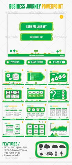 Business Journey PowerPoint - GraphicRiver Item for Sale