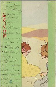 Raphael Kirchner - Geisha ( 9 )