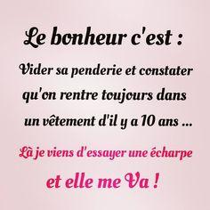 Le bonheur c'est ...  #Humour #HistoireDrole #rire #Amour #ImageDrole #myfashionlove ♥myfashionlove.com♥