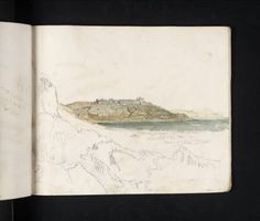 Light into Colour: Turner's West Country: Showcase | Tate Tate St Ives, Joseph Mallord William Turner, Artist Journal, Abstract Landscape, Light Colors, Vintage World Maps, Country, Cornwall