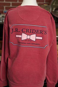 J.R. Crider's Clothing & Apparel — The Womens Logo Sweatshirt