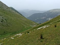 """View of French mountainsides. Much like the scenery Dr. Connor Amon travels through in """"Tale of the Gévaudan Beast."""""""