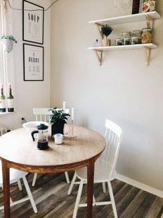 Small Kitchen Tables for Apartments. Small Kitchen Tables for Apartments. 13 Breakfast Nook Ideas for Your Small Kitchen Dining Corner, Small Kitchen Tables, Kitchen Nook, Kitchen Decor, Kitchen Dining, Rustic Kitchen, Apartment Kitchen, Kitchen Ideas, Room Corner