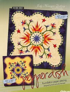 Pepper Dish - Foundation Paper Piecing Quilt Pattern