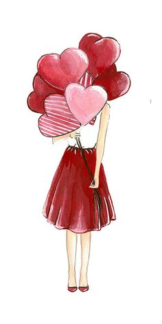 Wallpaper Iphone Inspiration Design Illustrations Ideas For 2019 Girly Drawings, Pencil Art Drawings, Drawing Sketches, Awesome Drawings, Paar Illustration, Illustration Mode, Design Illustrations, Image Bougie, Valentines Day Drawing