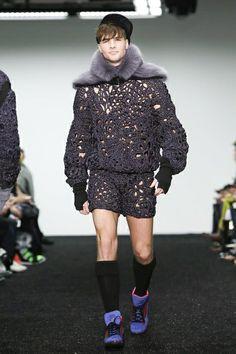 Sibling Menswear Fall Winter 2014 London - NOWFASHION