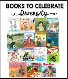 Great list of books with multicultural characters to help celebrate diversity in your classroom. Diversity In The Classroom, Multicultural Classroom, Harmony Day, Preschool Books, Mentor Texts, Activities For Kids, Diversity Activities, Sequencing Activities, Children's Literature