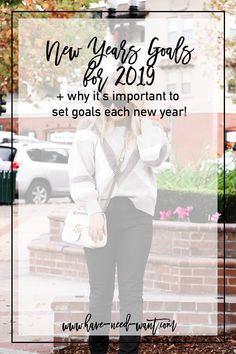 For my last post of 2019 I wanted to share my New Years goals with you. One, to help motivate you to set your own goals and two, to help hold myself accountable for my own goals. So first let's chat about why it's important to set goals each year. Mental Health Care, Improve Mental Health, New Year Goals, Coping With Depression, Own Goal, Coping Skills, Setting Goals, Stress Management, Wellness Tips