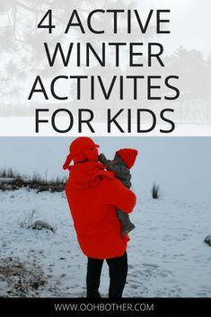 Things to do with your kids during the winter #activitiesforkids