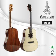 MS-61 all soild acoustic guitar