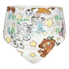 Adult baby   Crinkls bunte Windeln  Gr M 12 Stück Gr L 10 Stück in der Tüte