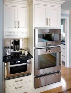 Kitchen Appliance Design - Warming Drawer - Jane Lockhart Interiors