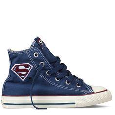 e70c510573b3 Wyatt s new shoes! Converse - Chuck Taylor DC Comics (Kid 4-7 yr