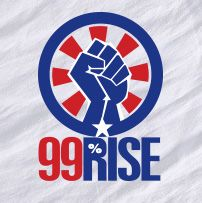 RECLAIM DEMOCRACY! #BeTheChange ABOUT 99RISE: America is in crisis, and our democracy on the auction block. We're here to do something about it. 99Rise is a network of activists and organizers dedicated to building a mass movement to reclaim our democracy from the domination of big money.