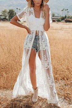 See Though Lace Cardigan – vacation outfit ideas,vacation wear,vacation clothes,outfit vacation,vacation fashion,summer vacation style,travel dresses summer,summer vacation clothes  #vacationdresses #caribbean #beach #vacationdressesmexico #vacationdressescasual #summer #boho #maxi #hawaii #streetstyle #fashion #stripeddressoutfit #vacationdressesbeach