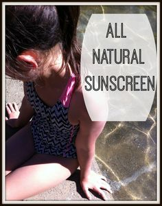 all natural sunscreen