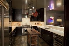 Cool Kitchen Remodel Ideas : Lighting And Flooring For Small Kitchens