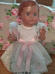 Schildkröt Puppe Erika, vitrinengepflegt, 41cm | eBay