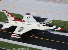 Gemini Aces Thunderbirds F-16 Fighting Falcon GAUSA5003