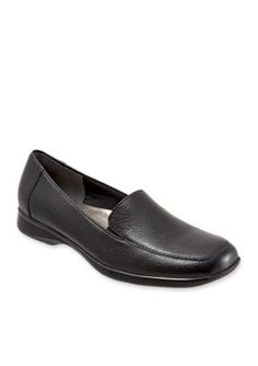 Trotters Black Jenn Loafer