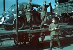 Hungarian soldiers with Opel