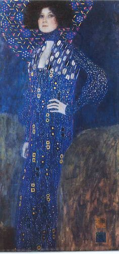 Such a distinctive style, I can recognize his work anywhere  Klimt, 1902
