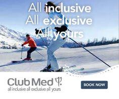 Vacationing: premium all inclusive ski holidays!