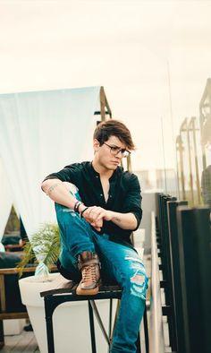Christopher tan lindo que eres!!!