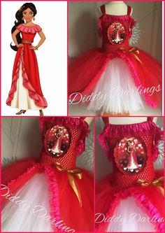 Elena Of Avalor Tutu Dress Elena Costume Christmas Party Fancy Dress Princess #DiddyDarlings #CasualFormalParty