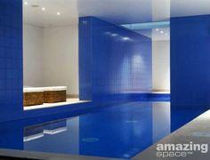 Ultra modern swimming pool