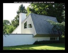 Simony House, Holte Denmark (1954) | Arne Jacobsen