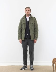 Aspesi M43 Theremore Military Jacket - Nitty Gritty Store
