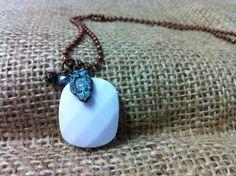 Harrow Necklace by JessFabulousDesigns on Etsy, $10.75