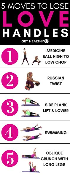 To Get Rid Of Love Handles - Get Healthy U Are you frustrated with your love handles? These five exercises will help you get rid of your love handles and get on with a smaller waist.Are you frustrated with your love handles? These five exercises will help Ab Workout Men, Ab Workout At Home, Workout Guide, At Home Workouts, Workout Fitness, Toning Workouts, Fitness Exercises, Stomach Toning Exercises, Middle Ab Workout
