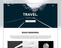 "Check out new work on my @Behance portfolio: ""Travel Landing Page"" http://be.net/gallery/64403485/Travel-Landing-Page"