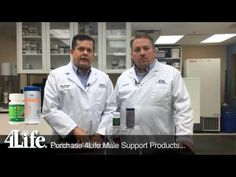 Vice President of Research and Development Brent Vaughan, PhD, RD and Senior Director of Product Development Shane Lefler, MS share how 4Life Transfer Factor® MalePro® and Male Formula™ provide support for men's health.