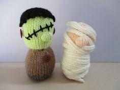 Frankenstein & Mummy by fluffandfuzz