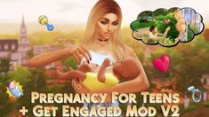 The Sims 4 Custom Content & Mods - Free Daily Updates Sims 4 Teen, Sims 4 Toddler, My Sims, Sims Cc, Sims Baby, Los Sims 4 Mods, Sims 4 Game Mods, Sims 4 Cheats, Sims 4 Traits