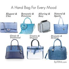 """A Hand Bag For Every Mood"" by ferialyouakim on Polyvore"